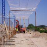 2PE Pilots i Minipilots per una pantalla acústica sota catenària Lleida