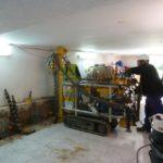 2PE Preperforación para la instalación de los aparatos CSAP St Antoni de Vilamajor