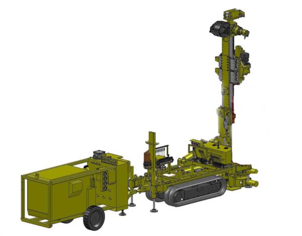 Equip de perforació M243